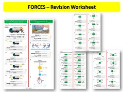 Forces - (Revision Worksheet 2)