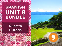 Spanish Unit 8 Bundle: Nuestra Historia - History of the Spanish-Speaking World