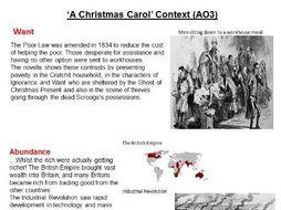 A Christmas Carol Exam Revision Booklet GCSE AQA