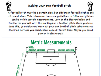 World Cup Football 2018 Activities and Resources and Worksheets - Maths