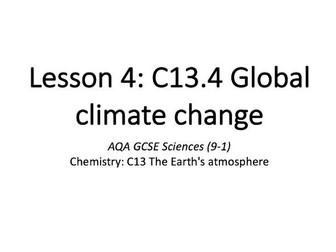 C13.4 Global climate change