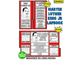 MARTIN LUTHER KING JR. LAPBOOK EN ESPAÑOL | ACTIVIDADES DE MARTIN LUTHER KING JR