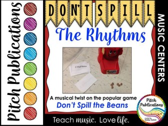 Music Center: Don't Spill the Rhythms! - Rhythm Game