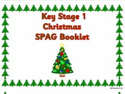 KS1 Christmas SPAG activity booklet.