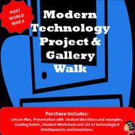 Modern Technology Project -Post WWII (U.S. History)