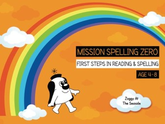 34. Phonics And Spelling Practice: Zoggy At The Seaside