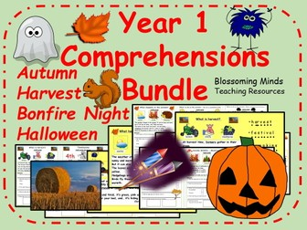 Year 1 Comprehension Pack - Autumn