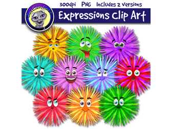 Emotions/Expressions Clip Art