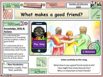 Friendship - PSHE Lesson