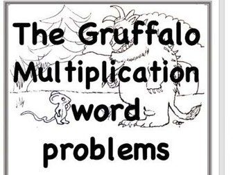 Gruffalo: Math Word Problem Solving Bundle Add, Subtract