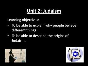 Judaism Topic KS3
