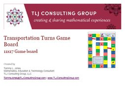 Transportation Turns Game Board