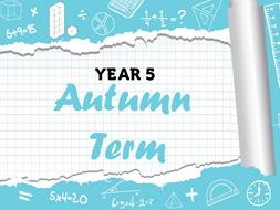 Year 5 - Full Autumn Term