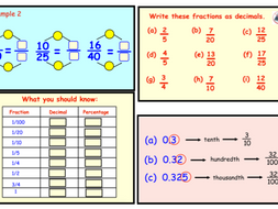 Fractions, Decimals and Percentages.(pptx)