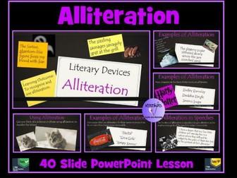 Alliteration PowerPoint Lesson