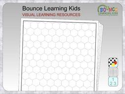 Graph paper - hexagons