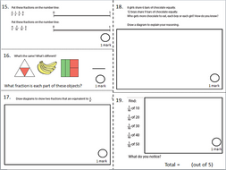 Maths - Year 4 NCTEM End of Year Mastery Questions