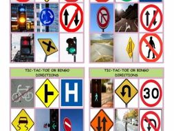 Directions Tic-Tac-Toe or Bingo