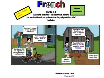 French for Adults: Beginners: Part 9: Time:The full hour, the verb 'faire' and leisure