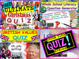 Tutor Time Quiz Pack