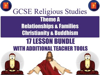 GCSE Christianity & Buddhism - Relationships & Families (17 Lessons)