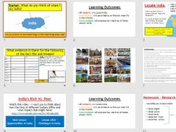 Place Study - Introduction to India (Lessons and resources).