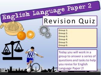 English Summer Quiz