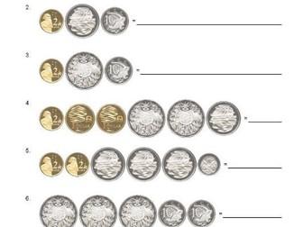 15000 Questions Australian Coins Adding Up Maths Australia Mathematics Shopping