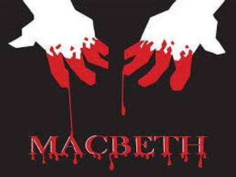 Macbeth revision package GCSE