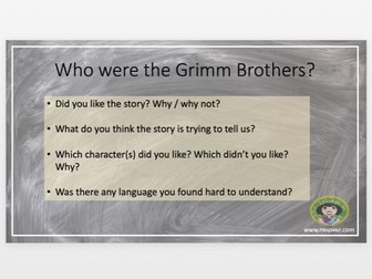 Stories From Other Cultures - Grimm Brothers - Mother Holle