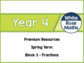 Year 4 - Fractions