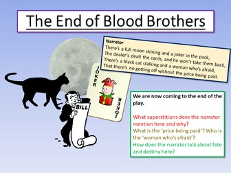 Blood Brothers The End