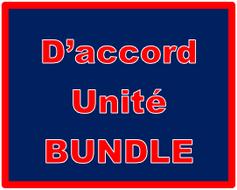 D'accord 2 Unité 6 Bundle