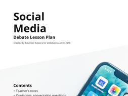 Social Media - Complete Debate Pack