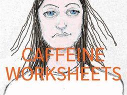 Caffeine Worksheets (Healthy Eating)