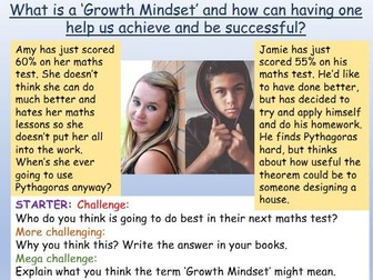 Growth Mindset PSHE