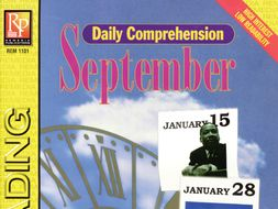 September: Daily Comprehension