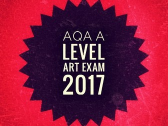 Art. EdExcel and AQA A level Art Exam