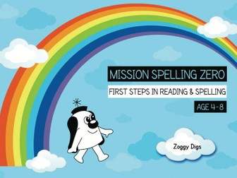 17. Phonics And Spelling Practice: Zoggy Digs