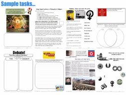 Form (Tutor) Time Philosophy Booklet (P4C) [Philosophy , Debates, Discussions] [60 PAGE BOOKLET!]