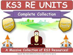 KS3 RE [6 COMPLETE UNITS!]