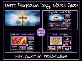 Lent, Pancake Day, Mardi Gras