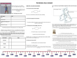 BBC Normans - Ep2 - Conquest - Worksheet to support the BBC Documentary with Prof. Robert Bartlett