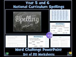National Curriculum Spellings Year 6