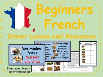 french unit 5 lessons food and drink la nourriture ks2 by blossomingminds teaching. Black Bedroom Furniture Sets. Home Design Ideas