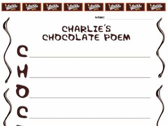 charlie the chocolate factory poem worksheet by mooscar charlie the chocolate factory poem worksheet by mooscar1 teaching resources tes