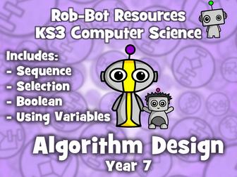 KS3 Computer Science:  Algorithm Design - Year 7