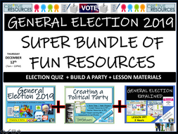 Political Party - General Election 2019 Bundle