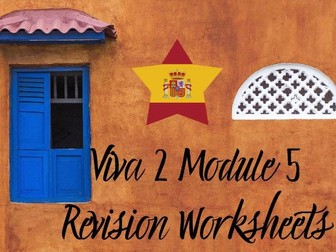 Spanish Viva 2 Module 5 Worksheets