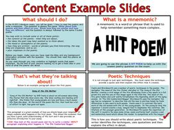 WJEC GCSE English Literature Exam Prep - Comparing Unseen Poetry